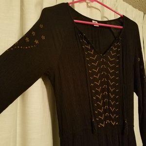 Old Navy boho midi dress